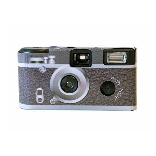 Focus Retro aparat z lampą i filmem kolorowym 24 zdjęcia