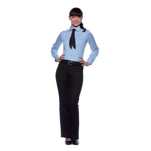 Bluzka damska z długim rękawem, rozmiar 36, jasnoniebieska | KARLOWSKY, Mia