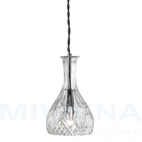 Decanter lampa wisząca 1 chrom szkło, 4981