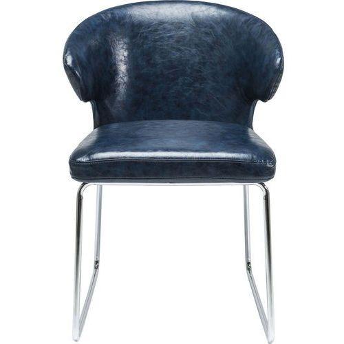 KARE Design:: Krzesło Atomic Blue niebieskie, kolor niebieski
