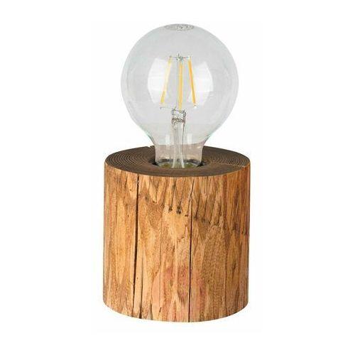 Lampka stołowa trabo z drewna e27 marki Spot-light