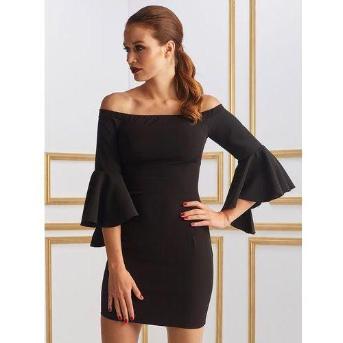 Sukienka marlena w kolorze czarnym wyprodukowany przez Sugarfree.pl