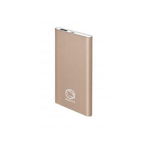 Powerbank MANTA MPB950G 5000 mAh Złoty (5902510606305)