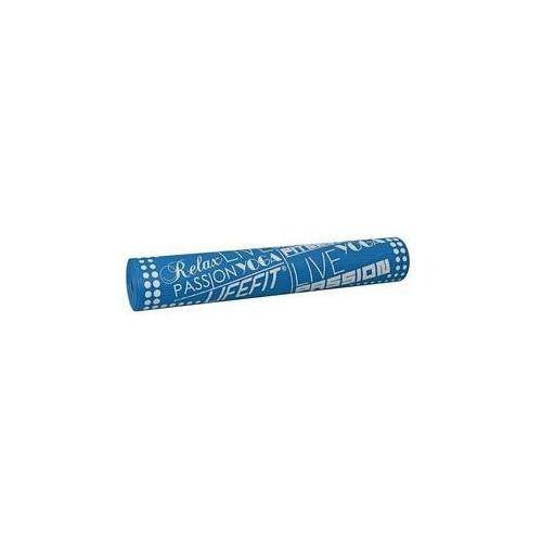 Lifefit Podkładka gimnastyczna slimfit, 173x61x0,4cm niebieska
