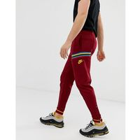 Nike re-issue joggers in red - red
