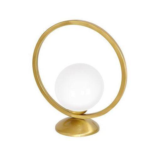 vienna mlp5578 lampka stołowa biurkowa 1x40w e14 mosiądz marki Milagro
