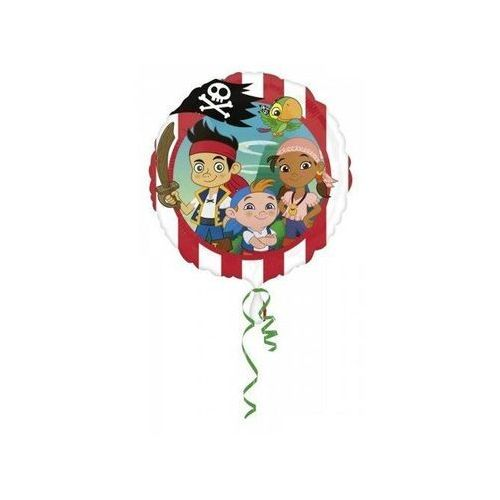 Balon foliowy jake i piraci - 43 cm marki Amscan
