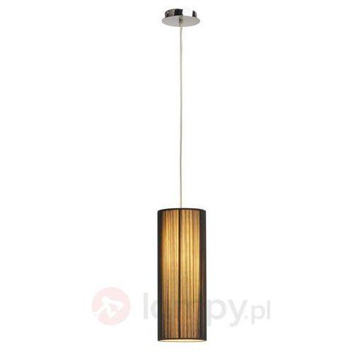 Lampa wisząca SLV 155380, E27 (ØxW) 4 cmx15.5 cm, Czarny, Beżowy, Lasson