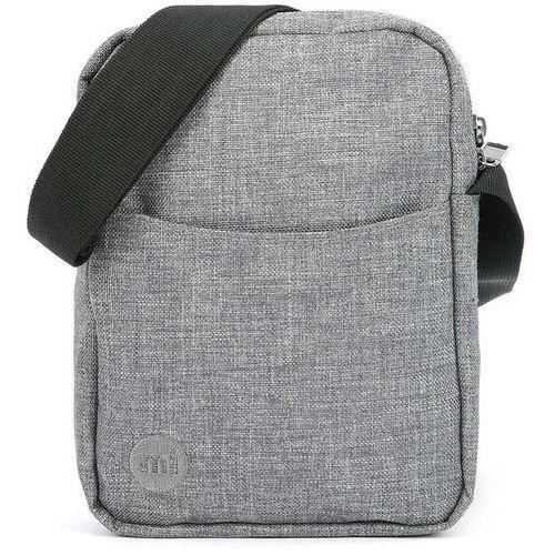 torebka MI-PAC - Flight Bag Crosshatch-Grey (S16), kolor szary
