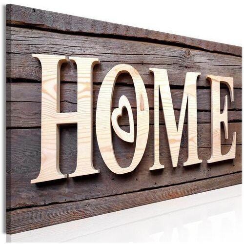 Obraz - Drewniane home (1-częściowy) wąski