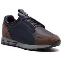 Sneakersy - x4x241 xl457 d738 antra/dk navy/bk/dk, Emporio armani, 44-45