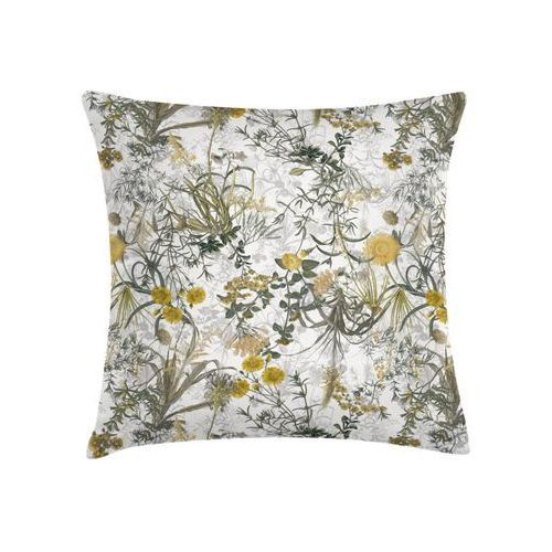 Sic Poduszka w kwiaty żółta 45 x 45 cm (5903357649616)