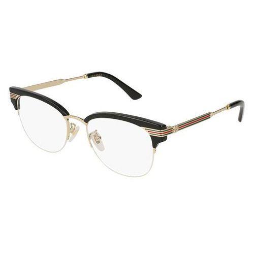 Gucci Okulary korekcyjne gg 0201o 001