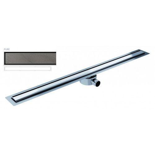 Odpływ liniowy elite slim pure 100 cm metalowy syfon el1000pu marki Wiper