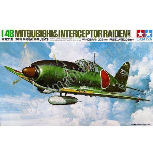 """Japoński myśliwiec przechwytujący Mitsubishi J2M3 Raiden """"Jack"""" Tamiya 61018"""