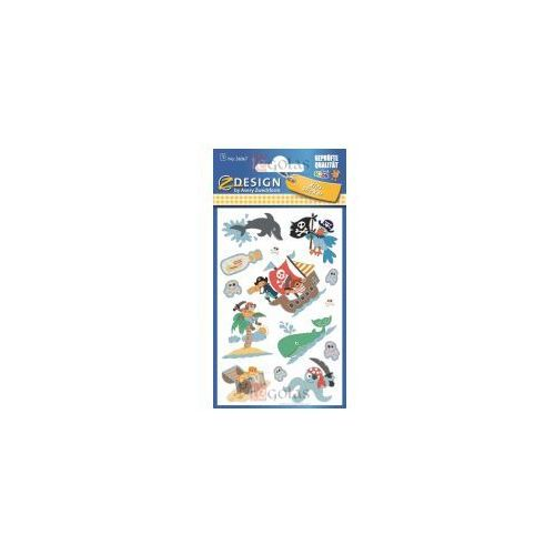 Naklejki brokatowe - Piraci (4004182560679)