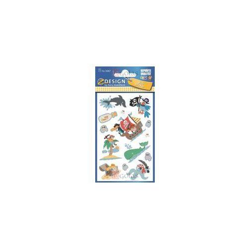 Zdesign Naklejki brokatowe - piraci (4004182560679)