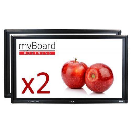"""Zestaw duet led 65"""" + 55"""" fhd z androidem - vat 0% oferta tylko dla szkół! marki Myboard"""