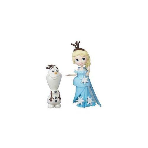 Frozen Mini Laleczka z przyjacielem Elsa - Hasbro, 5_557170