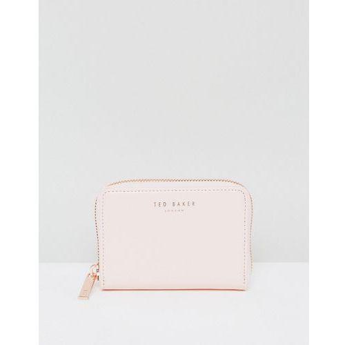 beryl colour block zipped mini purse - pink marki Ted baker