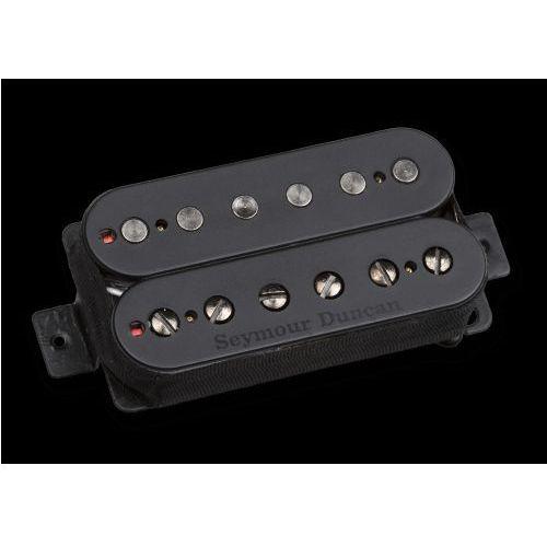 pega blk 6 str pegasus, przetwornik do gitary typu humbucker do montażu przy mostku, 6-strun, passive mount, czarny marki Seymour duncan