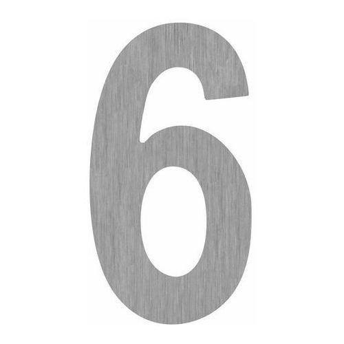 Cyfra 18 cm 6-9 srebrna