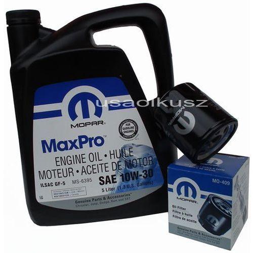 Mopar Oryginalny filtr oleju oraz olej 10w30 dodge caravan 2,0 / 2,4