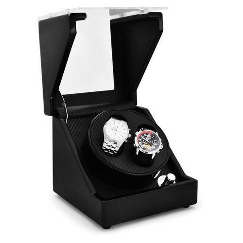 Rotomat Klarstein CA1PM na 2 zegarki optyka karbonowa