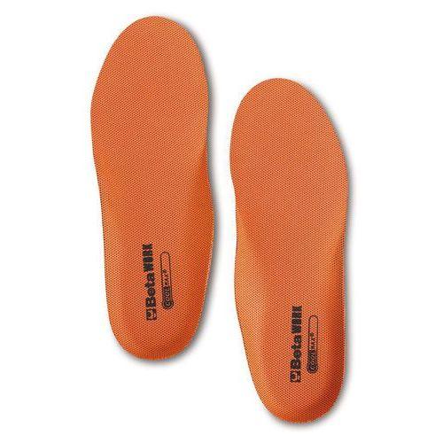 Beta Wkładki wymienne do butów, typu coolmax, anatomicznie wyprofilowane - rozmiar 43 (8014230733661)