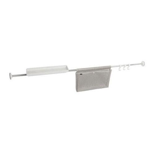 Umbra Reling ścienny do wanny flex 114-183 cm white