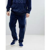 adidas Originals adicolor Velour Joggers In Tapered Fit In Navy CW4916 - Navy, w 5 rozmiarach