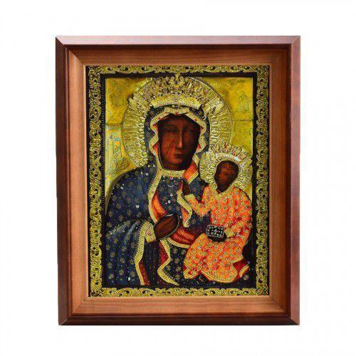 Złocony obraz Matki Bożej Jasnogórskiej