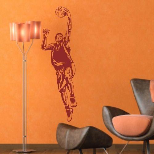Szablon malarski koszykarz 1167 marki Wally - piękno dekoracji