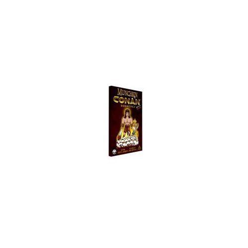 OKAZJA - Munchkin conan (15 dodatkowych kart) - poznań, hiperszybka wysyłka od 5,99zł! marki Black monk