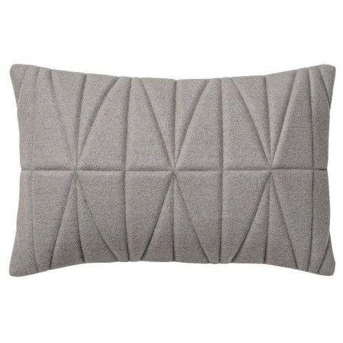 Pikowana poduszka dekoracyjna z szarego filcu - Bloomingville