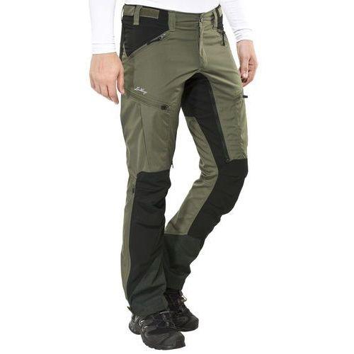 makke spodnie długie mężczyźni czarny/oliwkowy 56 2018 spodnie turystyczne, Lundhags