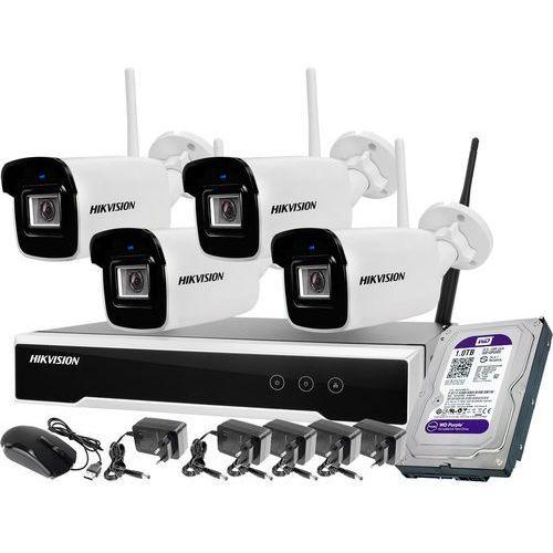 Monitoring zestaw bezprzewodowy Hikvision 4 kamery WiFi 4Mpx 1TB (6954273681616)
