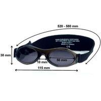 Okulary przeciwsłoneczne dzieci 2-5lat UV400 BANZ - Orange