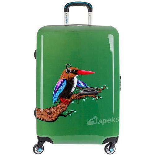 Bg berlin urbe duża walizka na 4 kółkach / 78 cm / tropical sound - zielony (6906053043046)