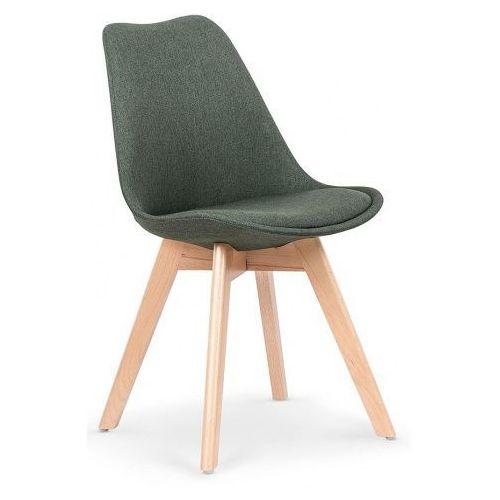 Krzesło drewniane Nives - zielone, V-CH-K/303-KR-C.ZIELONY