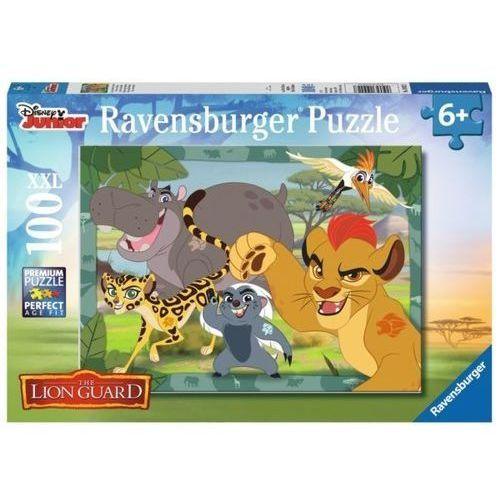 Ravensburger puzzle xxl 100 elementów - disney junior lion guard: lew i przyjaciele (4005556109227)