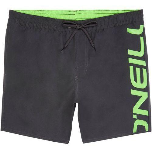 szorty kąpielowe 'cali' antracytowy / neonowa zieleń marki O'neill