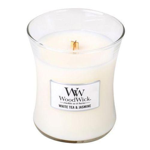 Świeca core white tea & jasmine średnia marki Woodwick