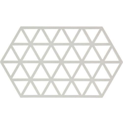 Zone denmark Podstawka pod gorące naczynia triangles 24 cm jasnoszara