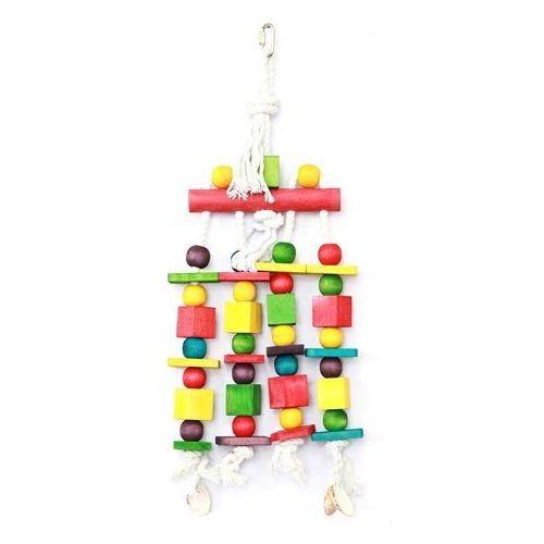 Zabawka dla ptaka blocks n beads marki happypet marki Hp birds