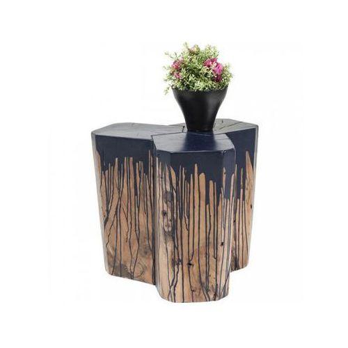 taboret stolik kawowy runny niebieski - 80296 marki Kare design
