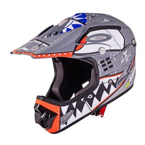 Kask Downhill na rower motor enduro W-TEC FS-605 Allride, Cartoon, S (55-56) (8596084053527)