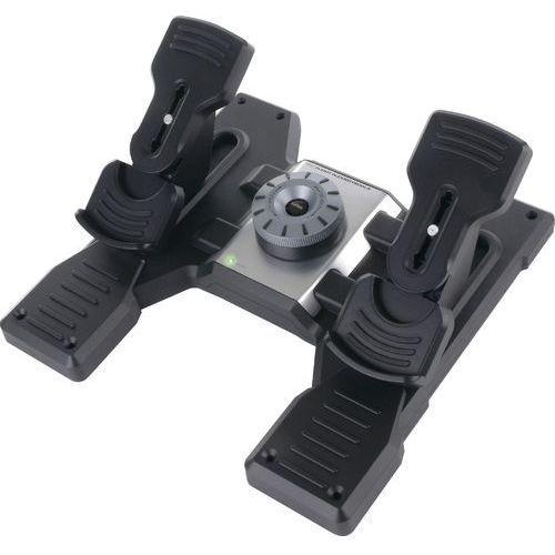 Pedał  g saitek pro flight rudder pedals usb marki Logitech