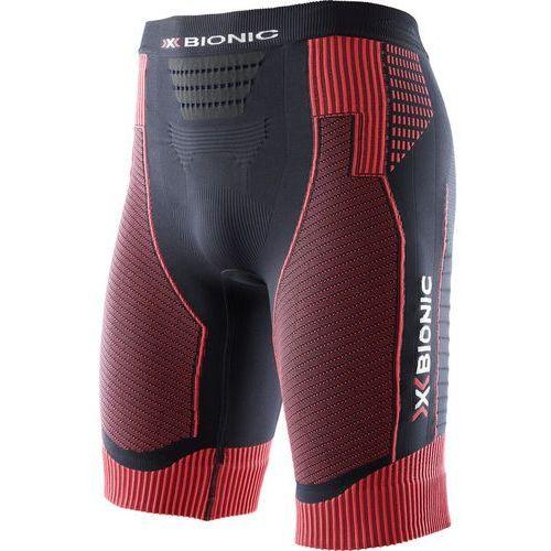 X-bionic effektor power spodenki do biegania mężczyźni czerwony/czarny m 2018 legginsy do biegania (8054216141257)