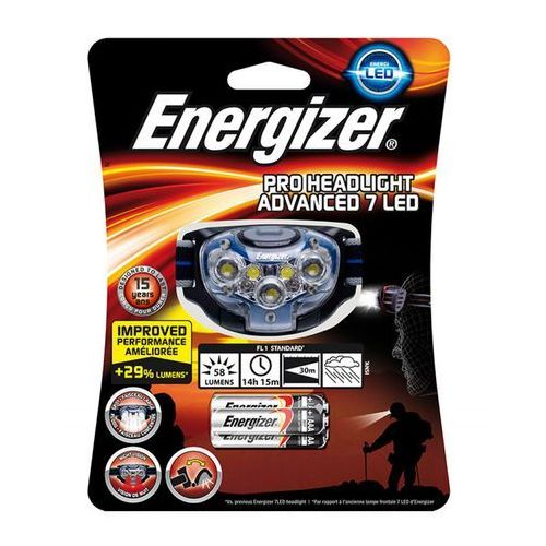 Energizer Latarka headlight vision hd+ focus